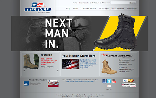 Belleville Boot Main Website